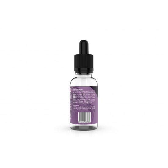 Orange Flavour 2000mg Oral Drops CBD Isolate 50ml